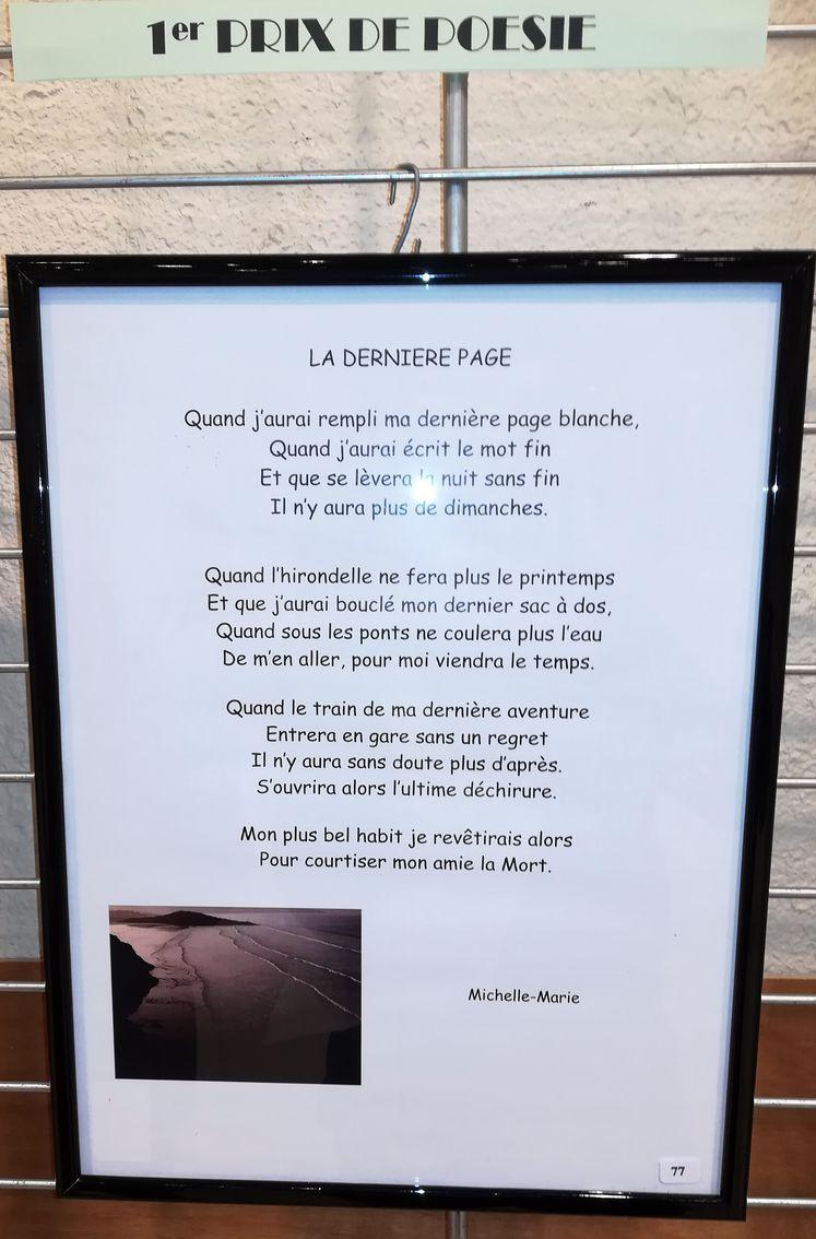 1er poésie